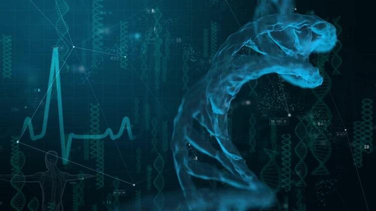 DNA Medical Background: Motion Graphics