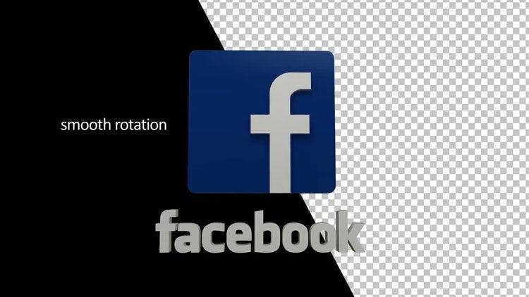 Facebook Logo: Stock Motion Graphics