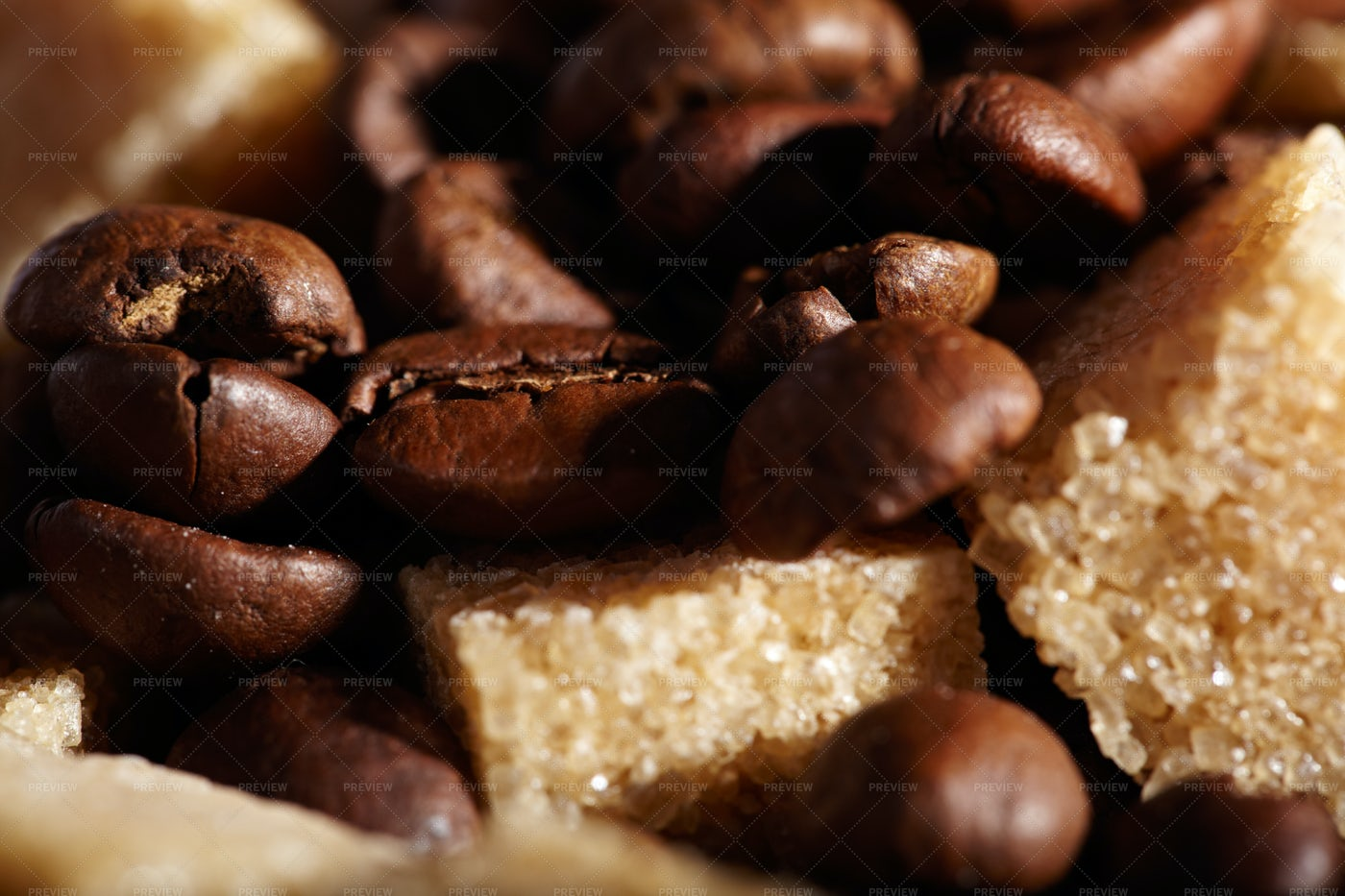 Coffee Beans Background: Stock Photos