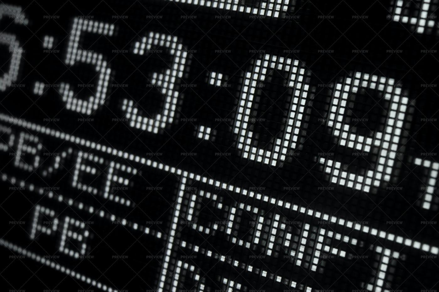 Display Of Video Recorder: Stock Photos