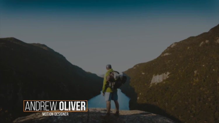 Good Lower Thirds: After Effects Templates