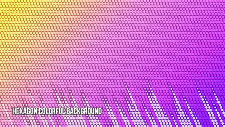 Hexagon Background Pack: Stock Motion Graphics