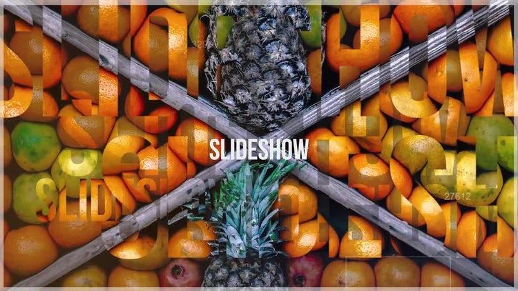 Text Slideshow: Premiere Pro Templates