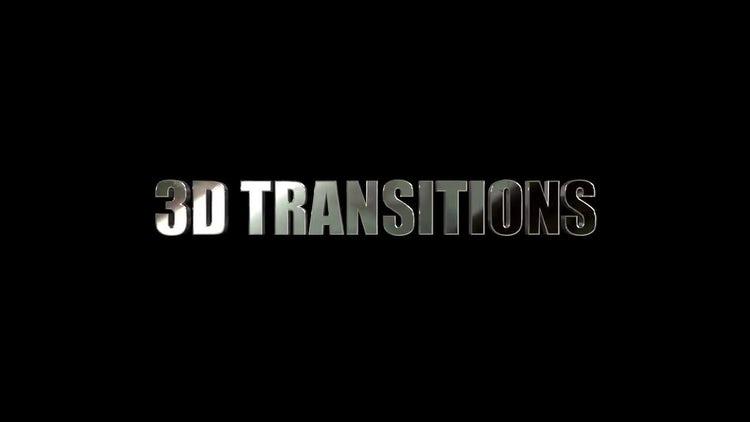 3D Metal Transitions: Premiere Pro Templates