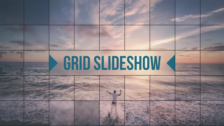 Grid Slideshow: Premiere Pro Templates