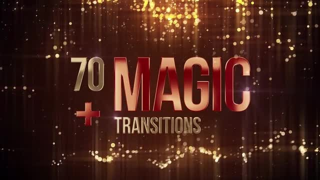 70 Magic Transitions: Premiere Pro Templates