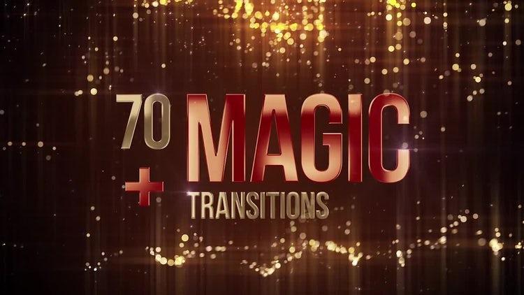 70 Magic Transitions: Premiere Pro Templates