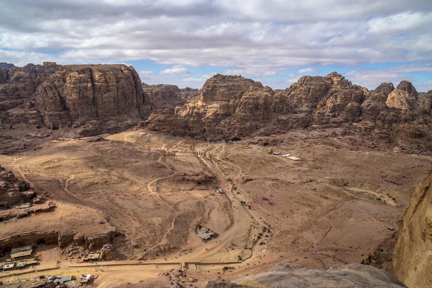 Petra, Jordan.: Stock Photos