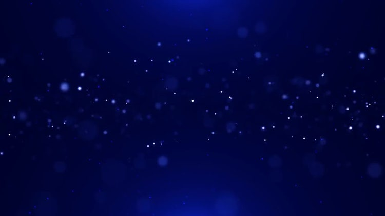 Blue Particles 4K: Stock Motion Graphics