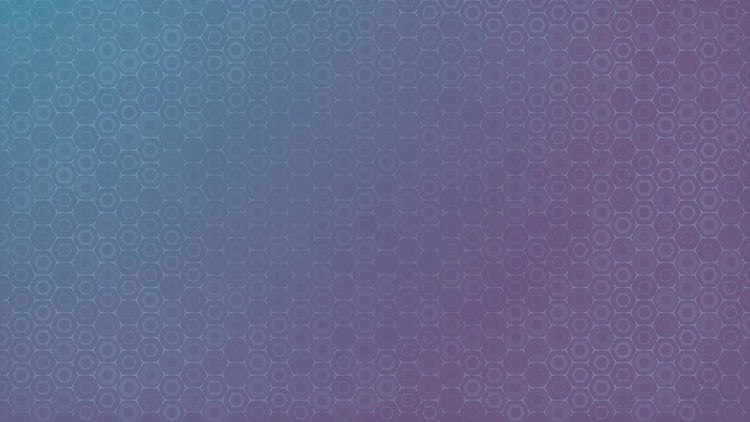 Abstract Hexagons Background: Motion Graphics