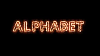 Fire Alphabet: Motion Graphics