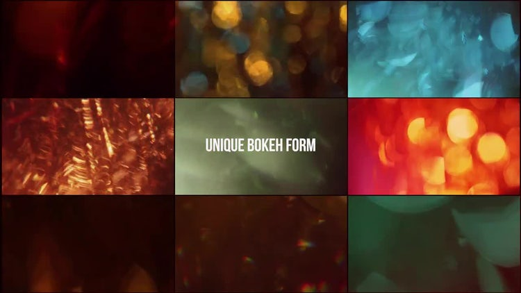 Bokeh Leaks and Backgrounds 4k Pack: Stock Video
