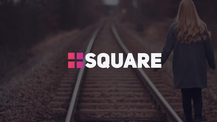 Modern Square Titles: After Effects Templates