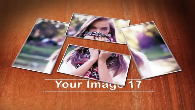 Photos that slide: After Effects Templates