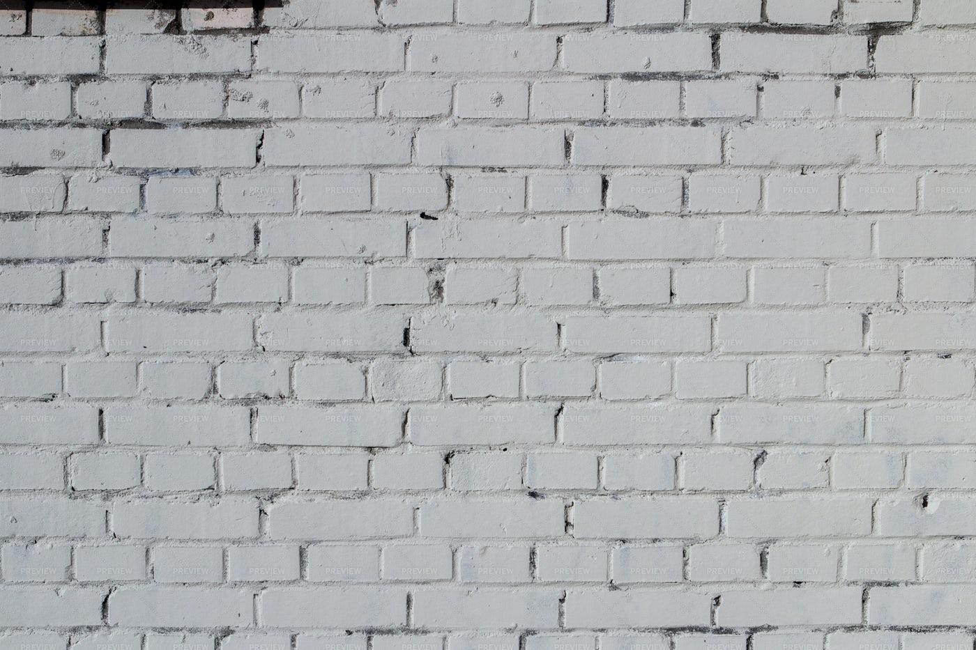 White Brick Wall: Stock Photos