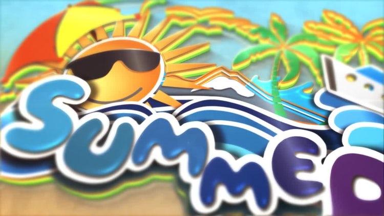 Summer logo: After Effects Templates