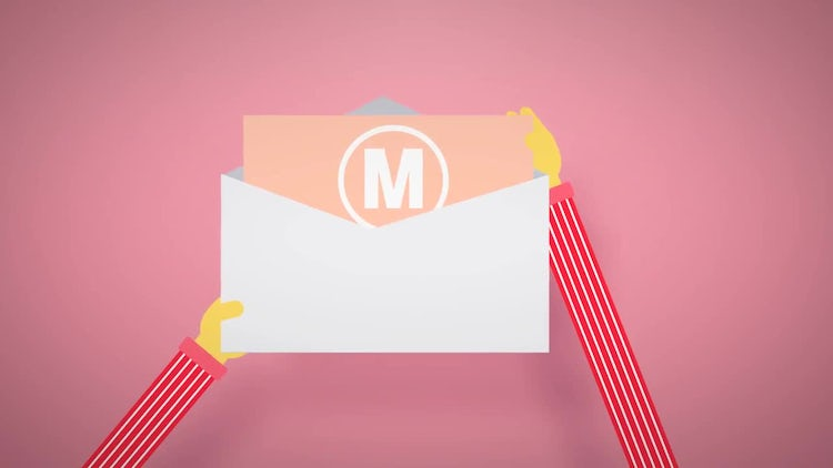 Logo Reveal by Mail: After Effects Templates