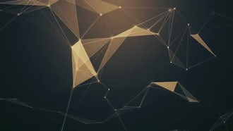 Sepia Plexus Background: Motion Graphics