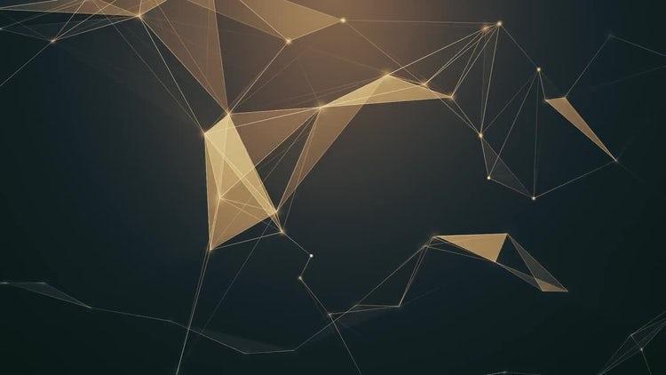 Sepia Plexus Background: Stock Motion Graphics
