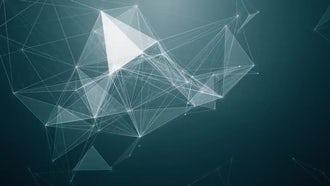 Blue Plexus Background: Motion Graphics