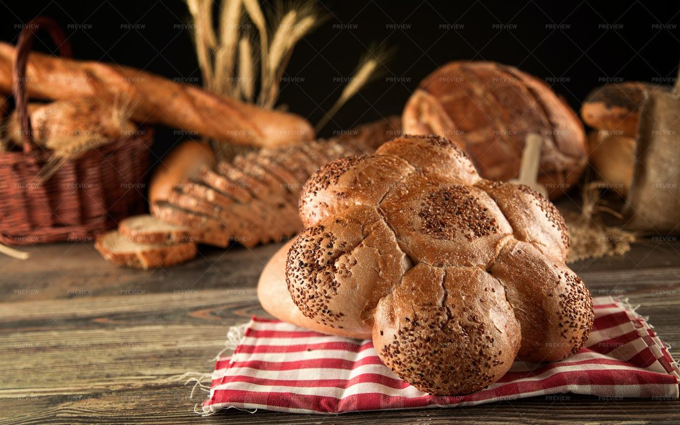 Fresh Baked Bread: Stock Photos