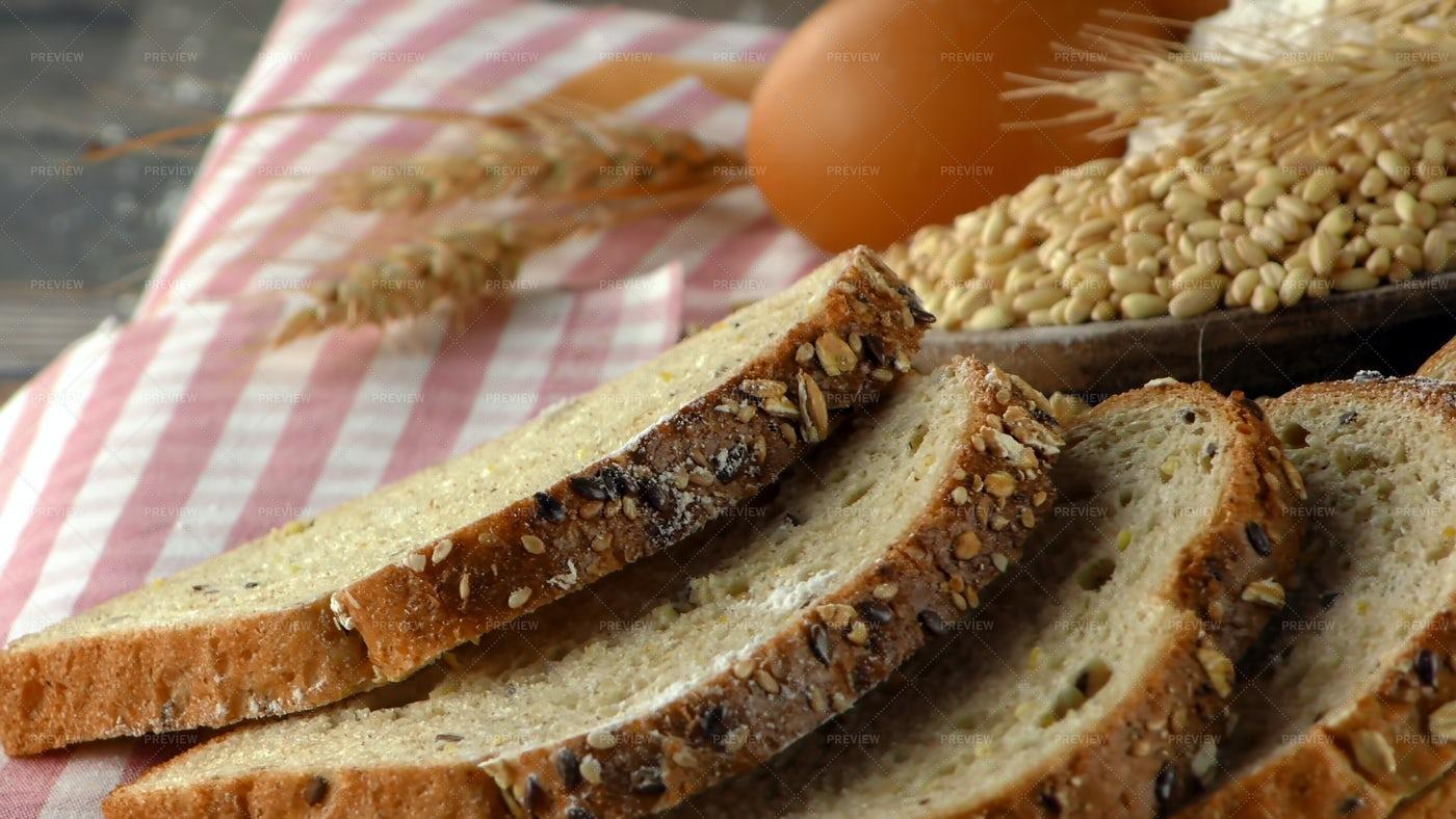 Homemade Bread Ingredient: Stock Photos