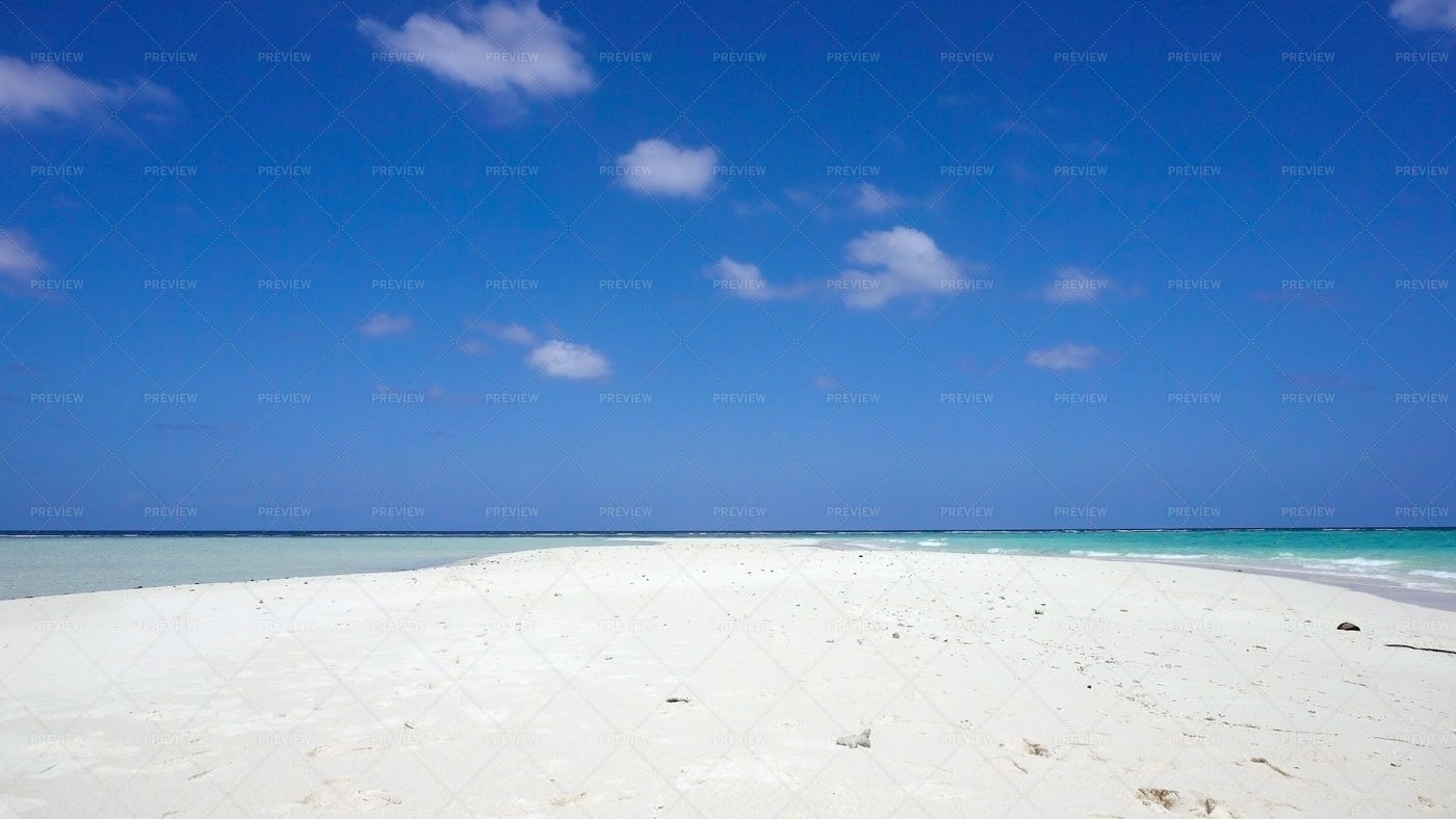 Empty Tropical Beach: Stock Photos