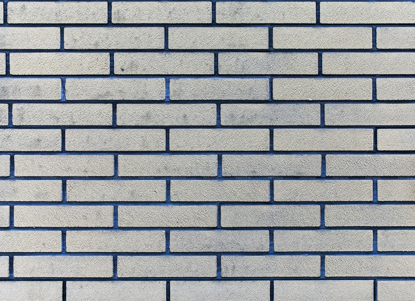 Silver Brick Wall: Stock Photos