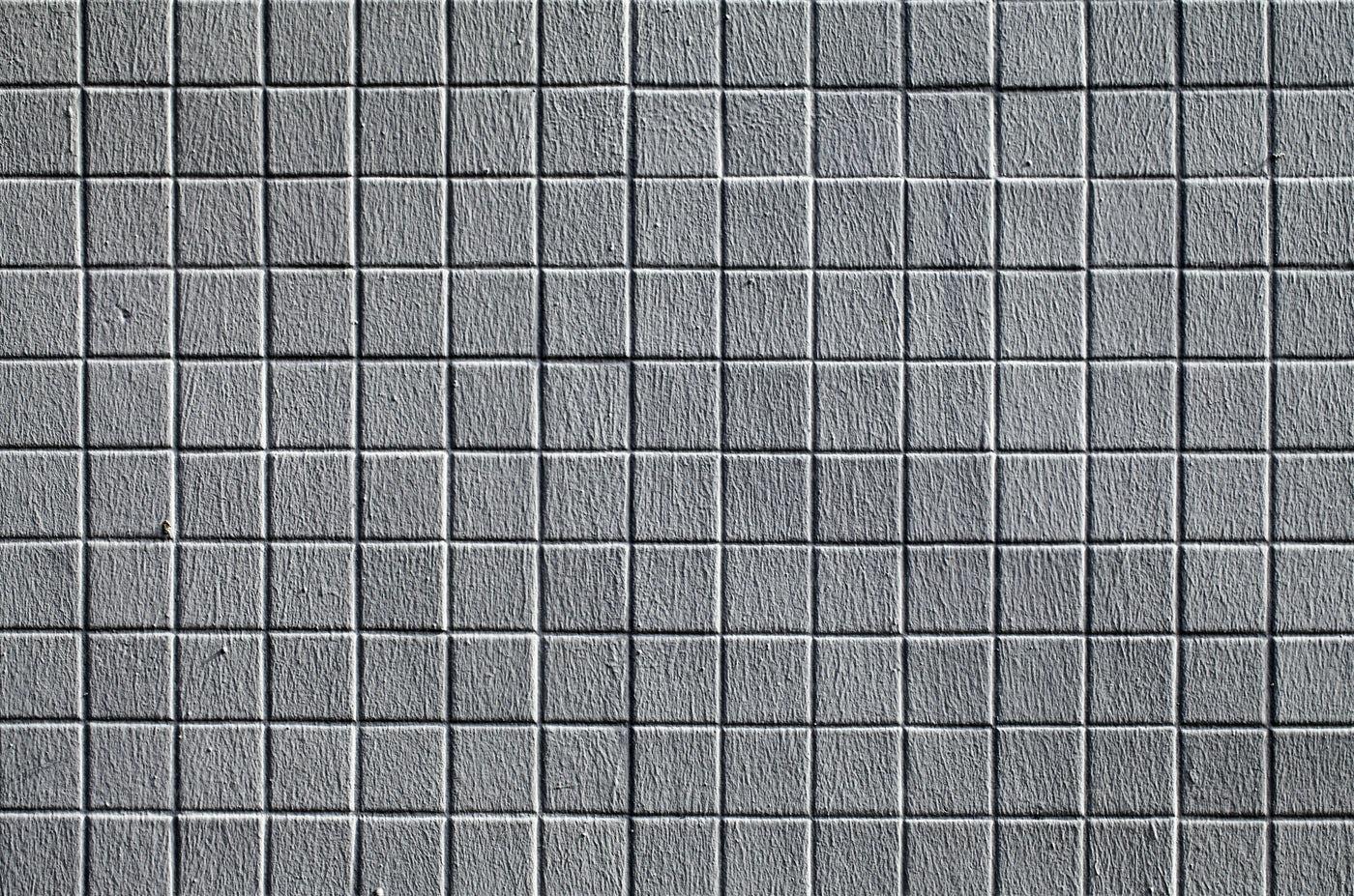 Gray Brick Wall Background: Stock Photos