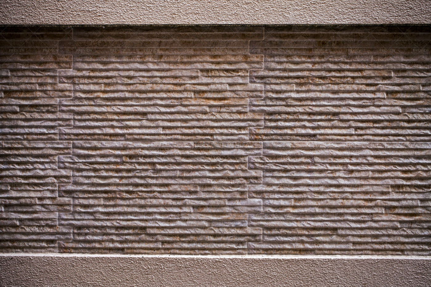 Modern Stone Brick Wall: Stock Photos