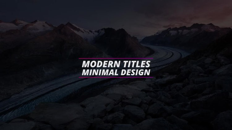 New Colorful Titles: Premiere Pro Templates