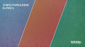 Abstract Hexagons Background Pack: Motion Graphics