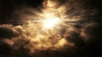 Heavenly Lights: Motion Graphics