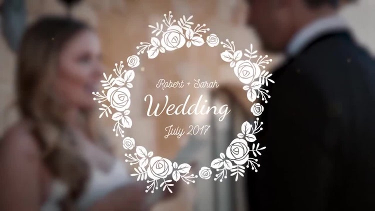 Wedding Titles Mini Pack: After Effects Templates