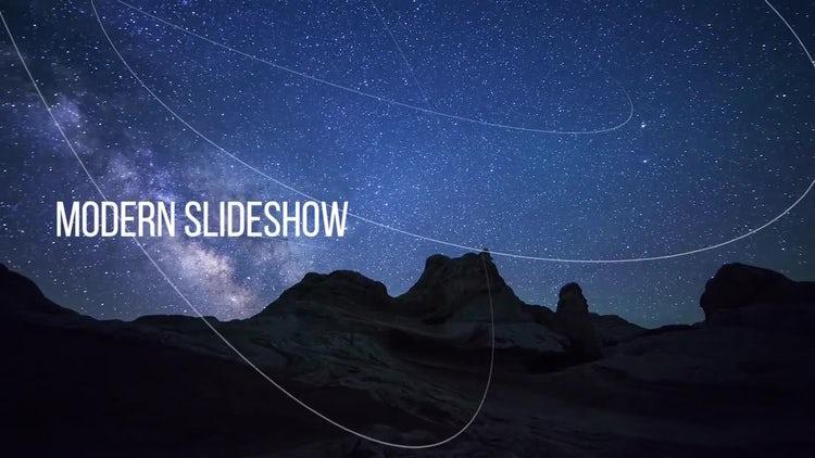 Modern Slideshow: Premiere Pro Templates