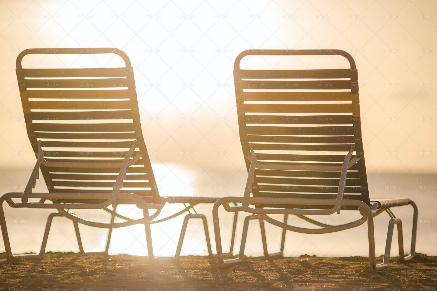 Beach Chairs: Stock Photos