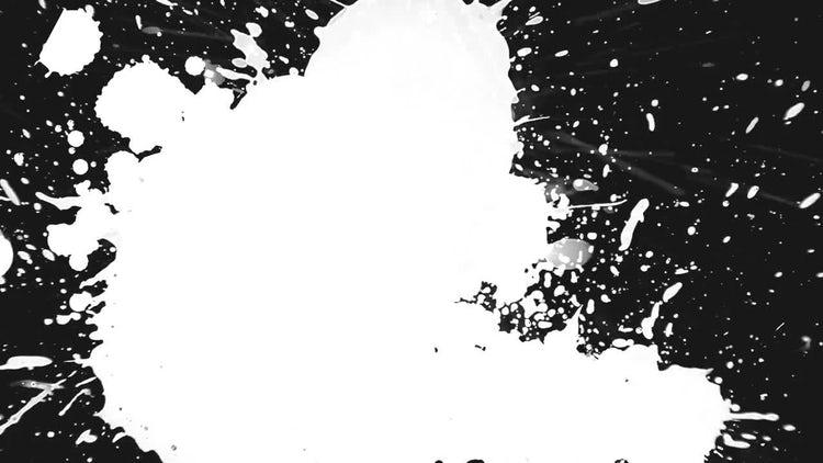 Paint Splat Transition 03: Stock Motion Graphics