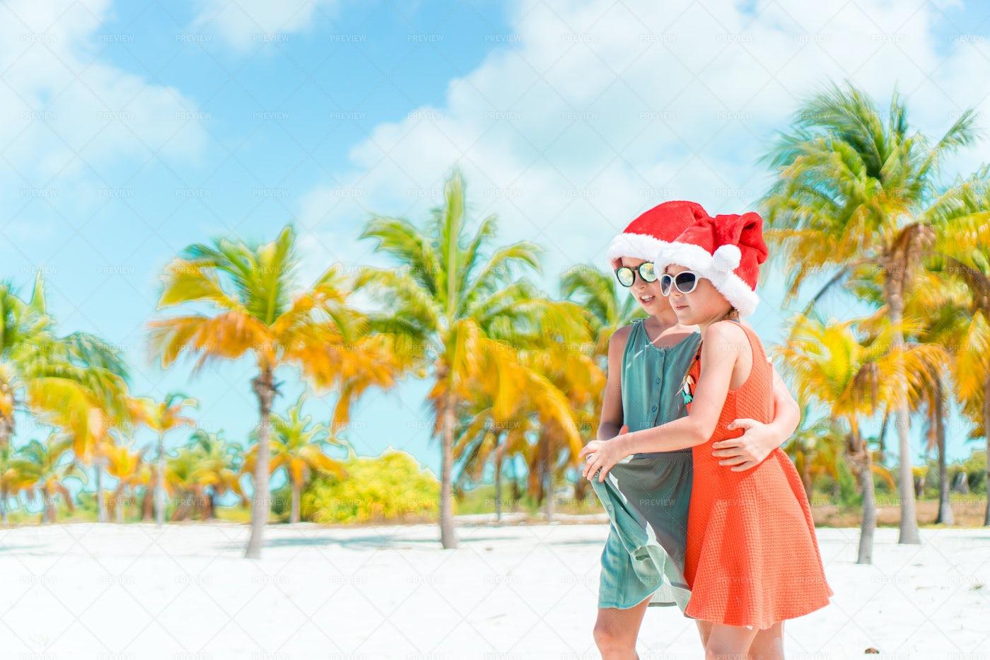 Beach Christmas: Stock Photos