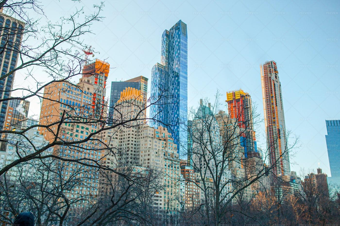 New York Skyscrapers: Stock Photos