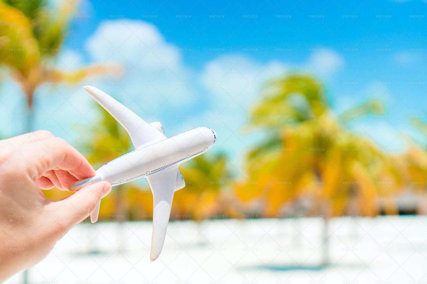 Dreaming Of Tropical Destinations: Stock Photos