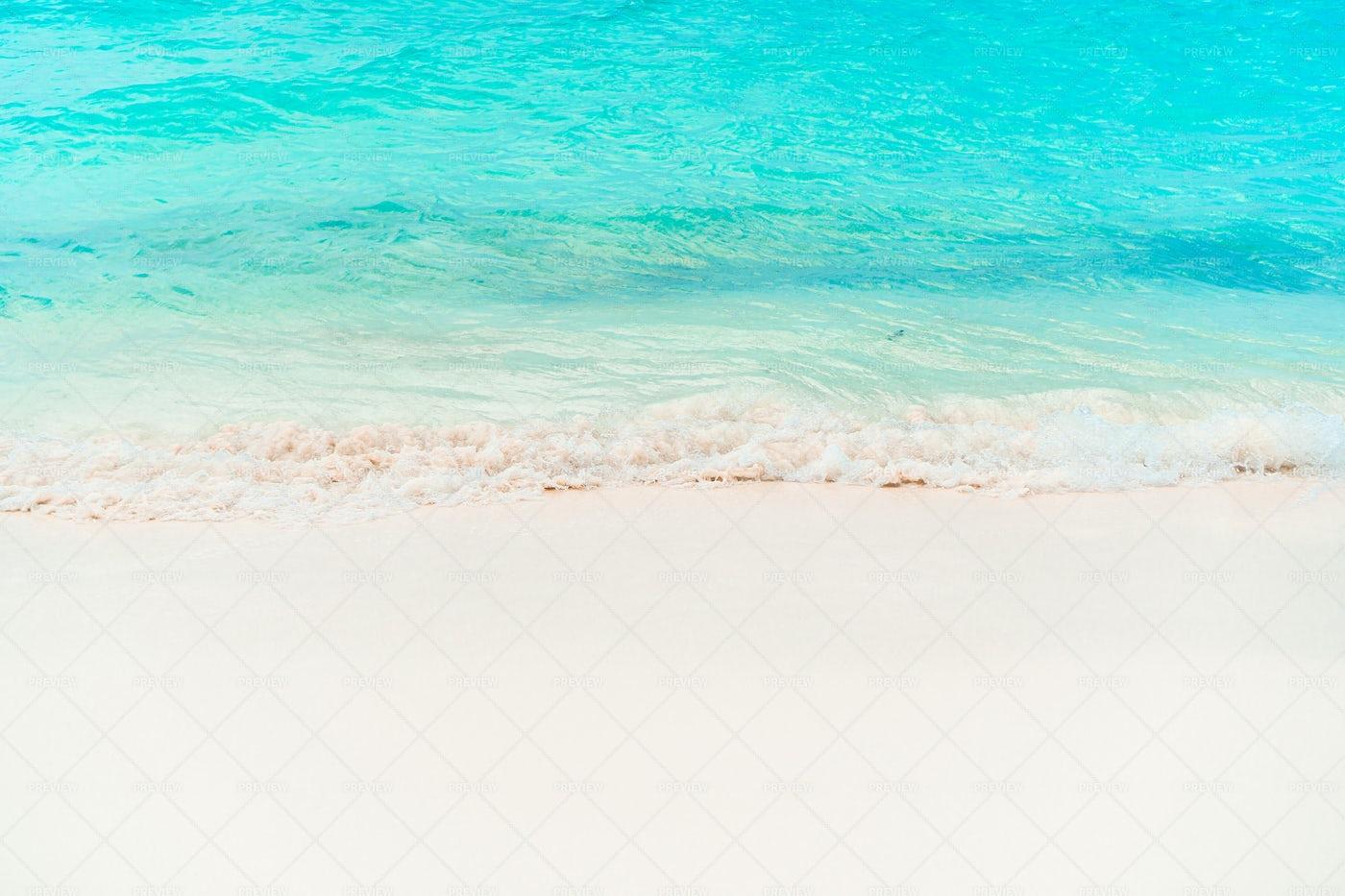 Tropical Beach With White Sand: Stock Photos