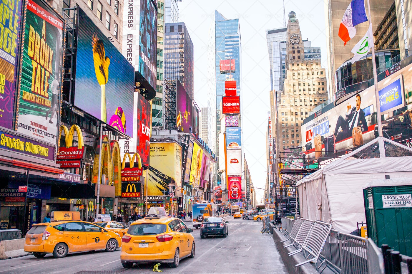 New York City Street: Stock Photos