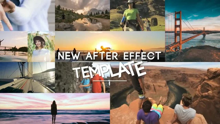 Stomp Multi Photo Logo : After Effects Templates