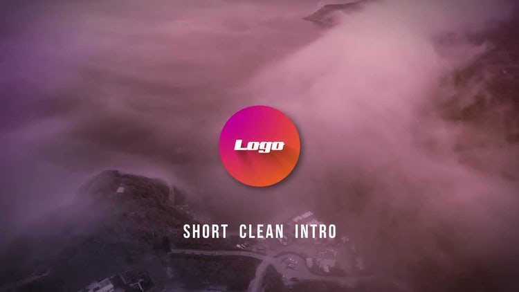 Short Clean Intro: After Effects Templates