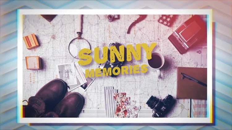 Sunny opener: After Effects Templates