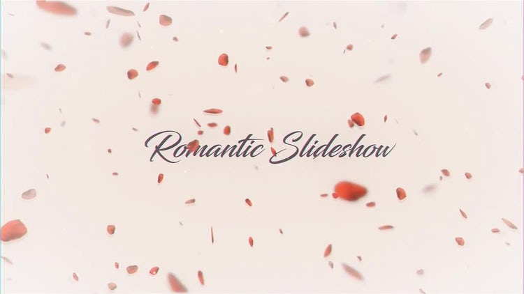 Romantic Slideshow: After Effects Templates