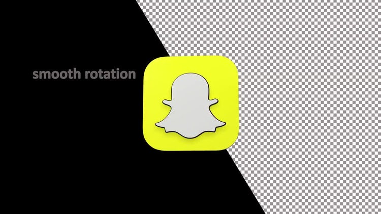 SnapChat logo: Motion Graphics