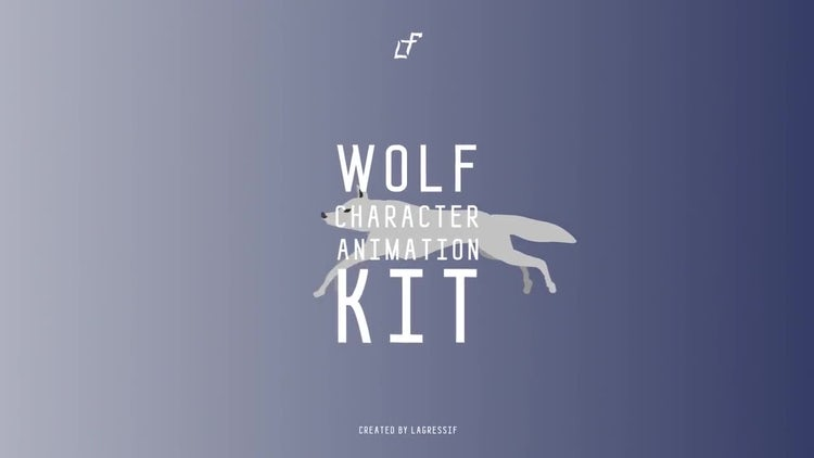 Wolf Character Animation Kit: After Effects Templates