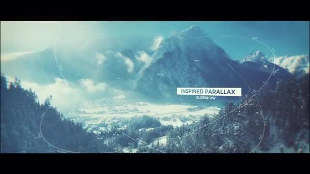 Inspired Parallax Slideshow: After Effects Templates