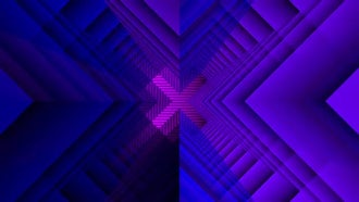 Pink & Blue Geometric Background: Motion Graphics